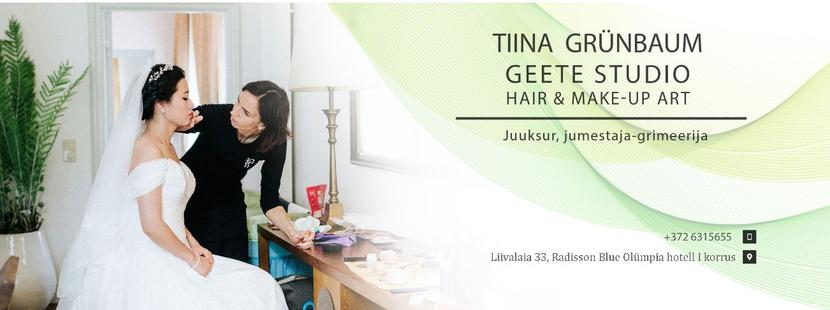 Tiina Grünbaum ilusalong Geete Studio