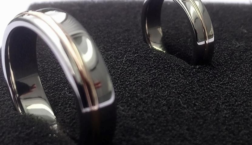 Titaanist käsitööna unikaalsed abielusõrmused ja ehted.