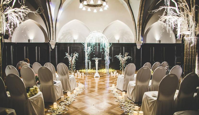 Abielu registreerimine Olavi saalis