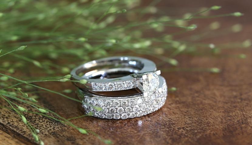Briljantidega kihla- ja abielusõrmused