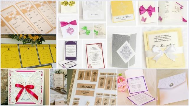 Kutsed, kaardid, lauaplaanid, nimekaardid