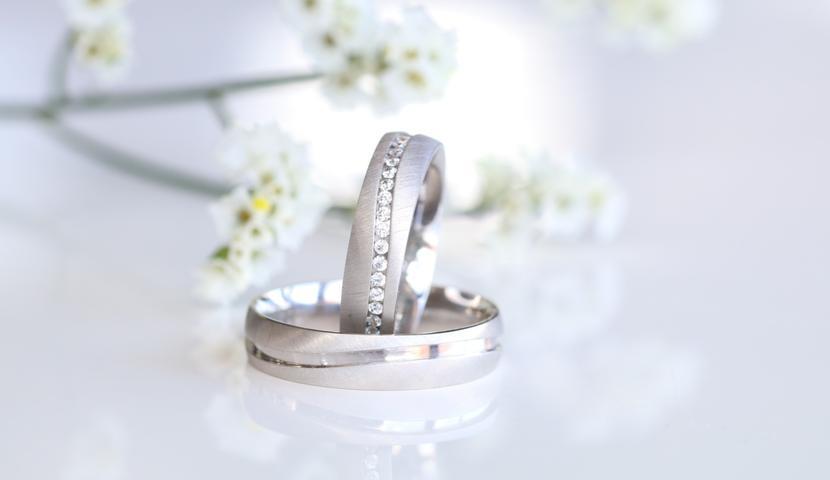 e-Jewels.ee plaatina abielusõrmused, briljantidega