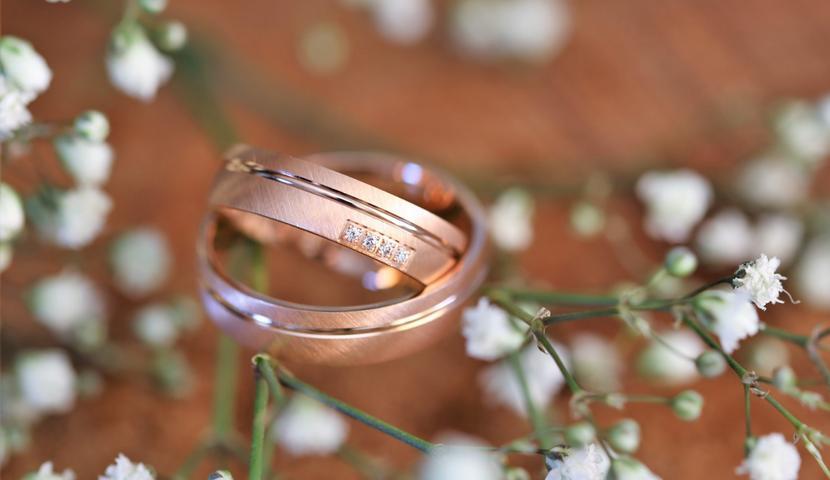 e-Jewels.ee roosa kullaga abielusõrmused