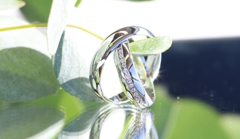 e-Jewels.ee valge kullaga abielusõrmused