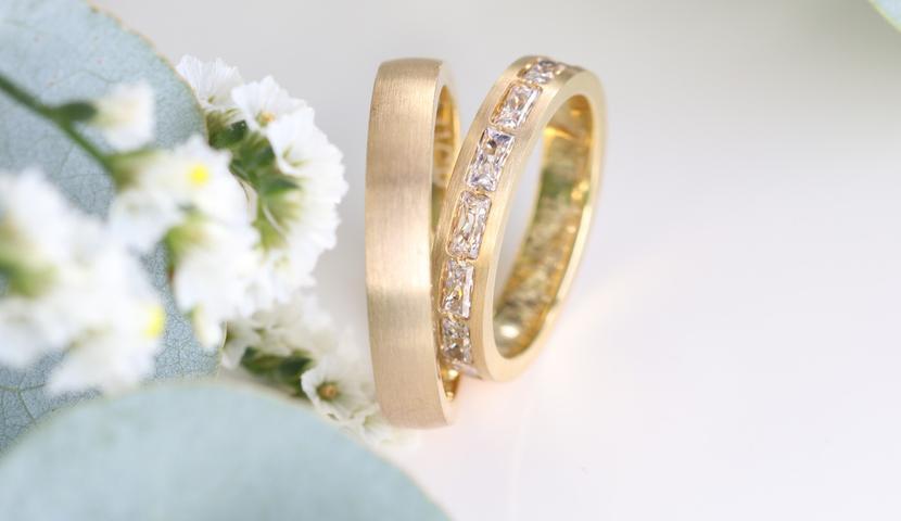 e-Jewels.ee Teemantidega abielusõrmused